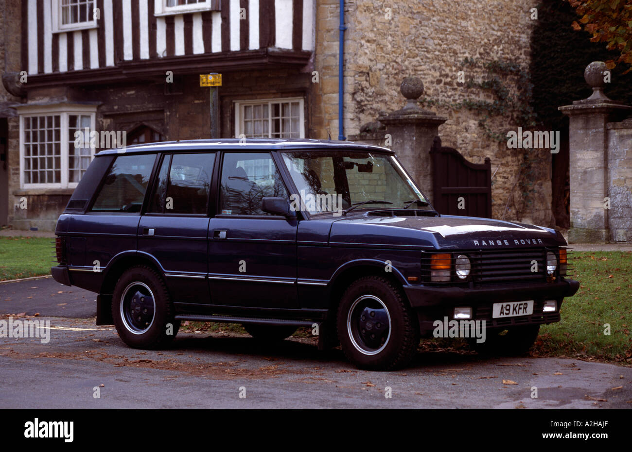 High Country Motors >> Land Rover Range Rover Vogue SE. Model years 1981 to 1996 Stock Photo: 6014126 - Alamy