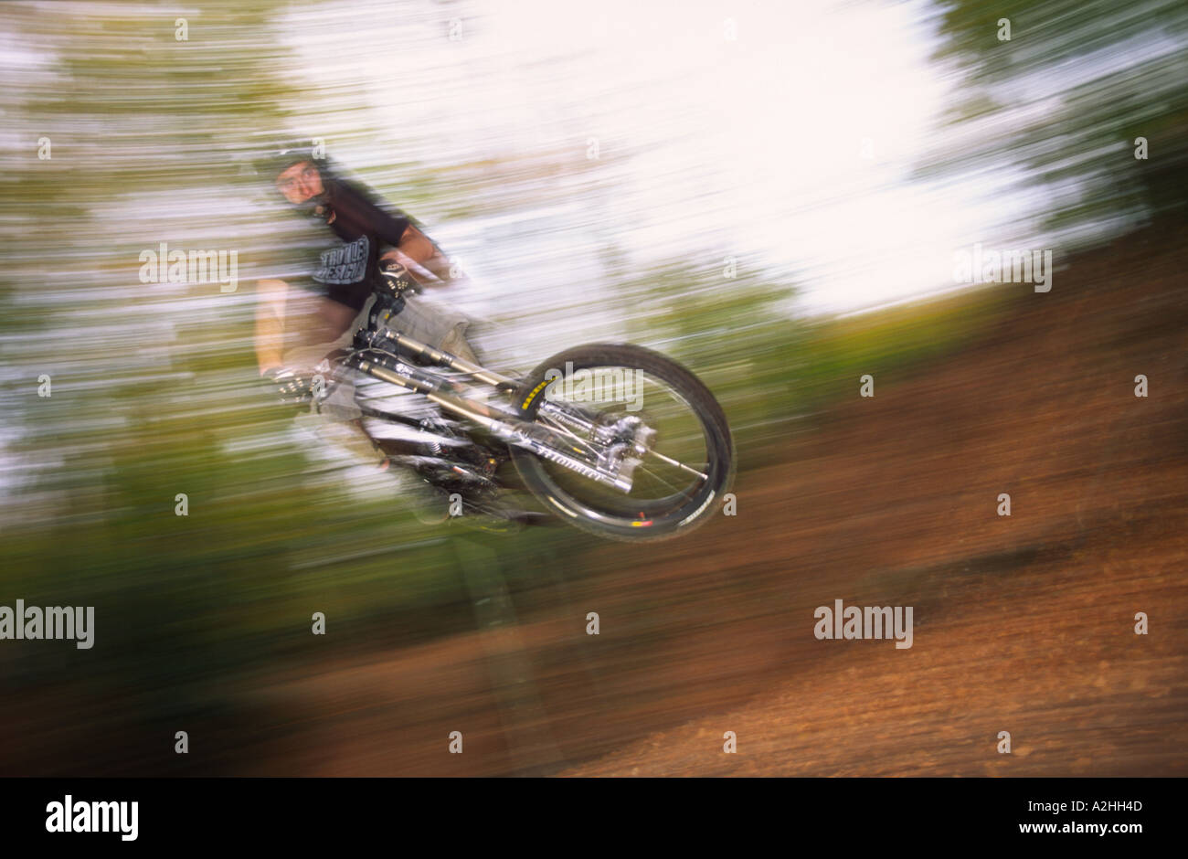 Dinger floats over a Puddletown table top in Dorset county England UK - Stock Image