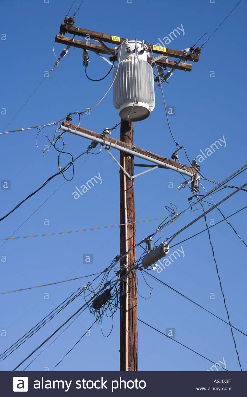 Amps America American Usa United States Cables Electric Stock Photos ...