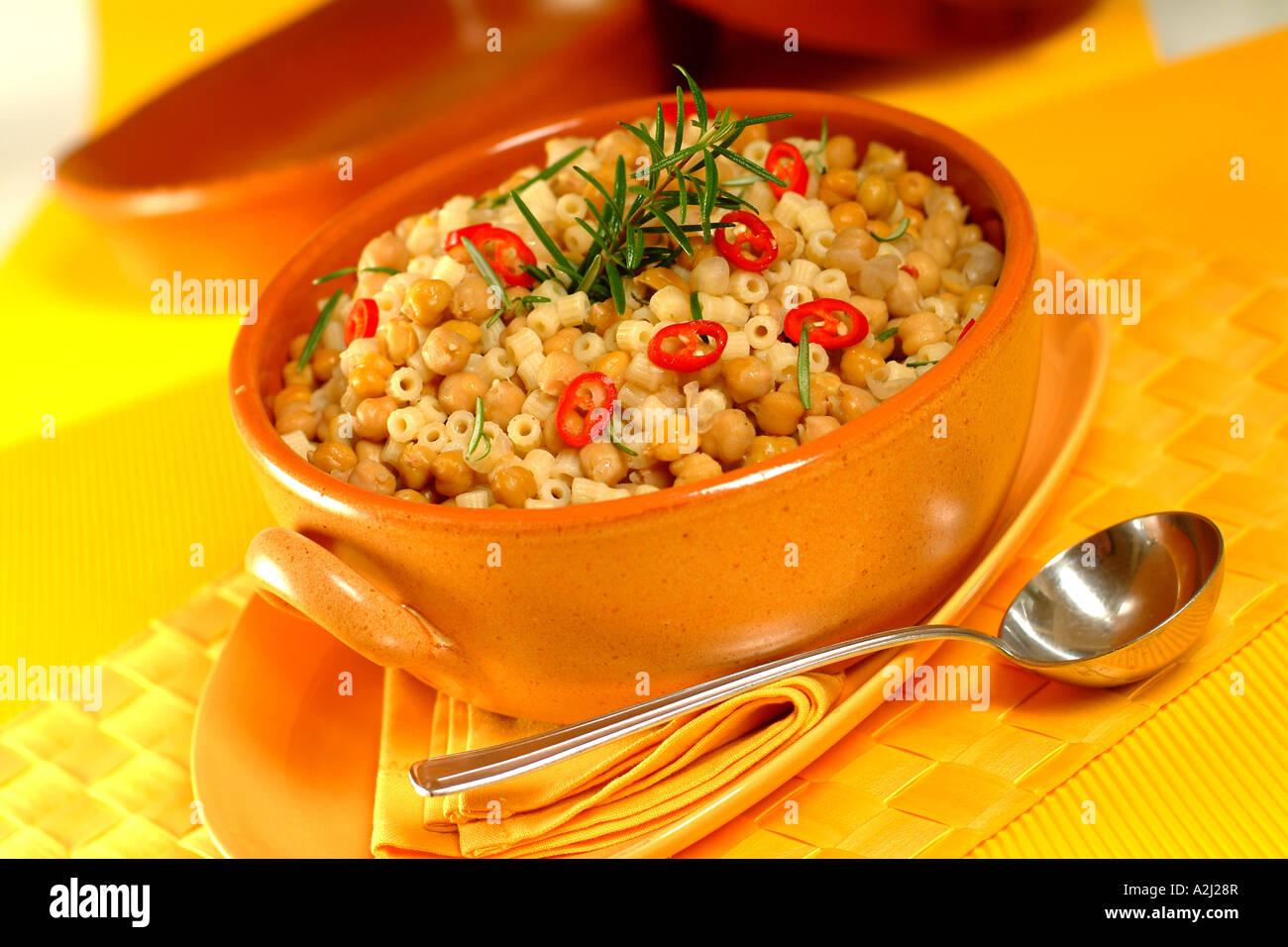 Chick Pea Soup Stock Photo