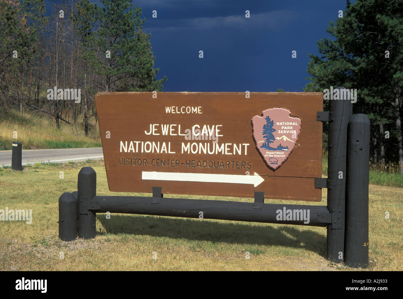 AJ21799, Black Hills National Forest, SD, South Dakota - Stock Image