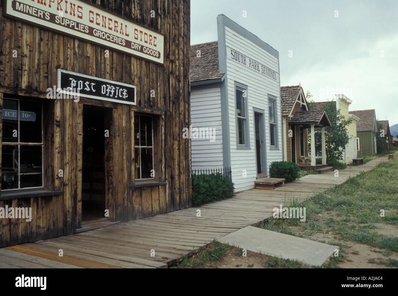 AJ21782, Fairplay, CO, Colorado - Stock Image