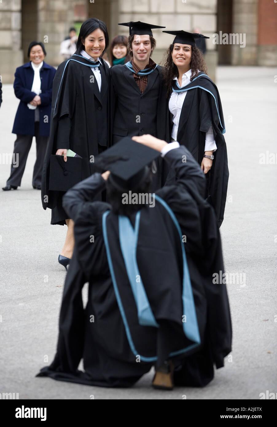 Graduation Ceremony University Birmingham Student Stock Photos ...