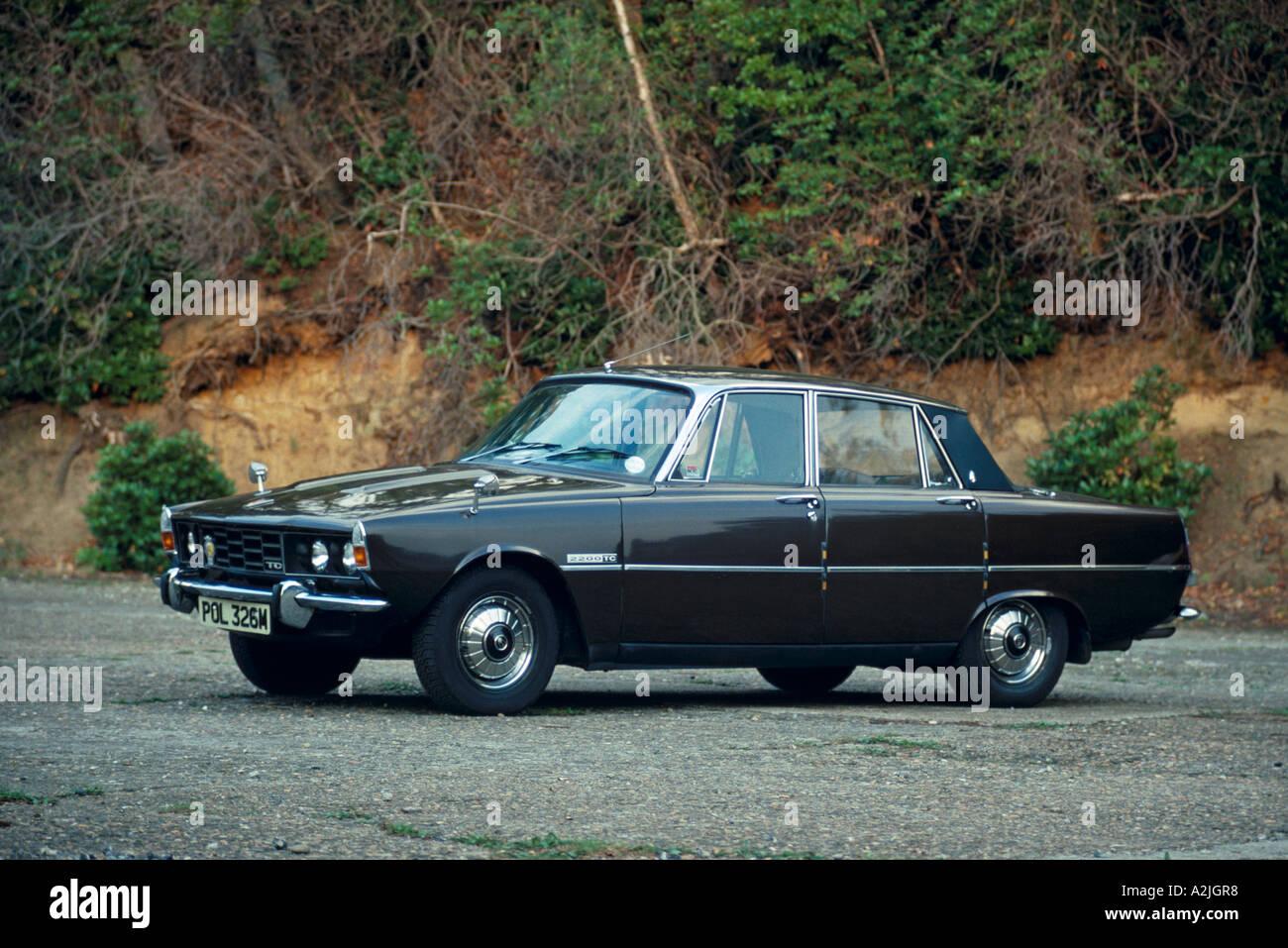 Rover 2200TC P6 of 1973 Stock Photo