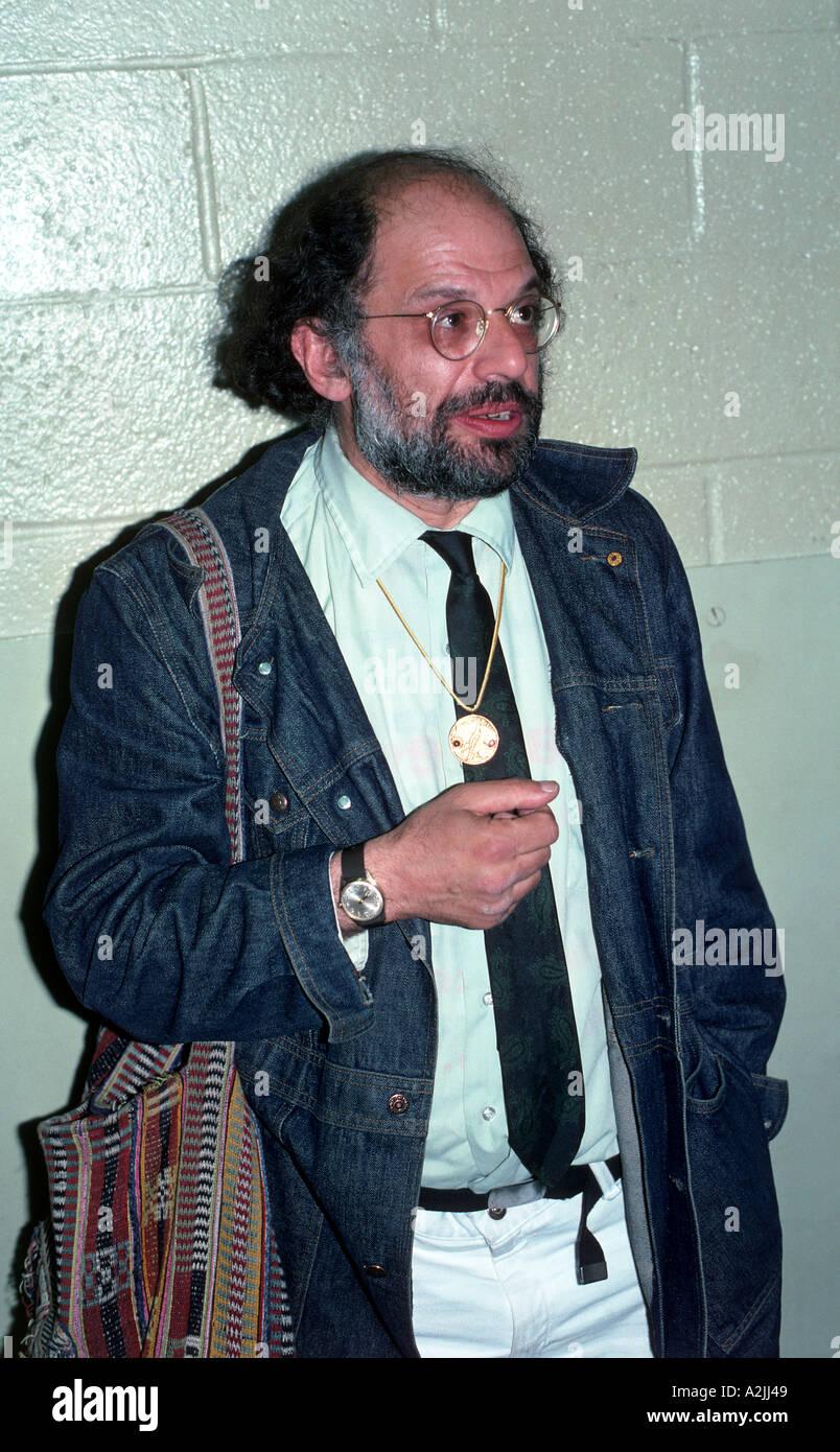 ALAN GINSBERG American poet here in 1976 Stock Photo