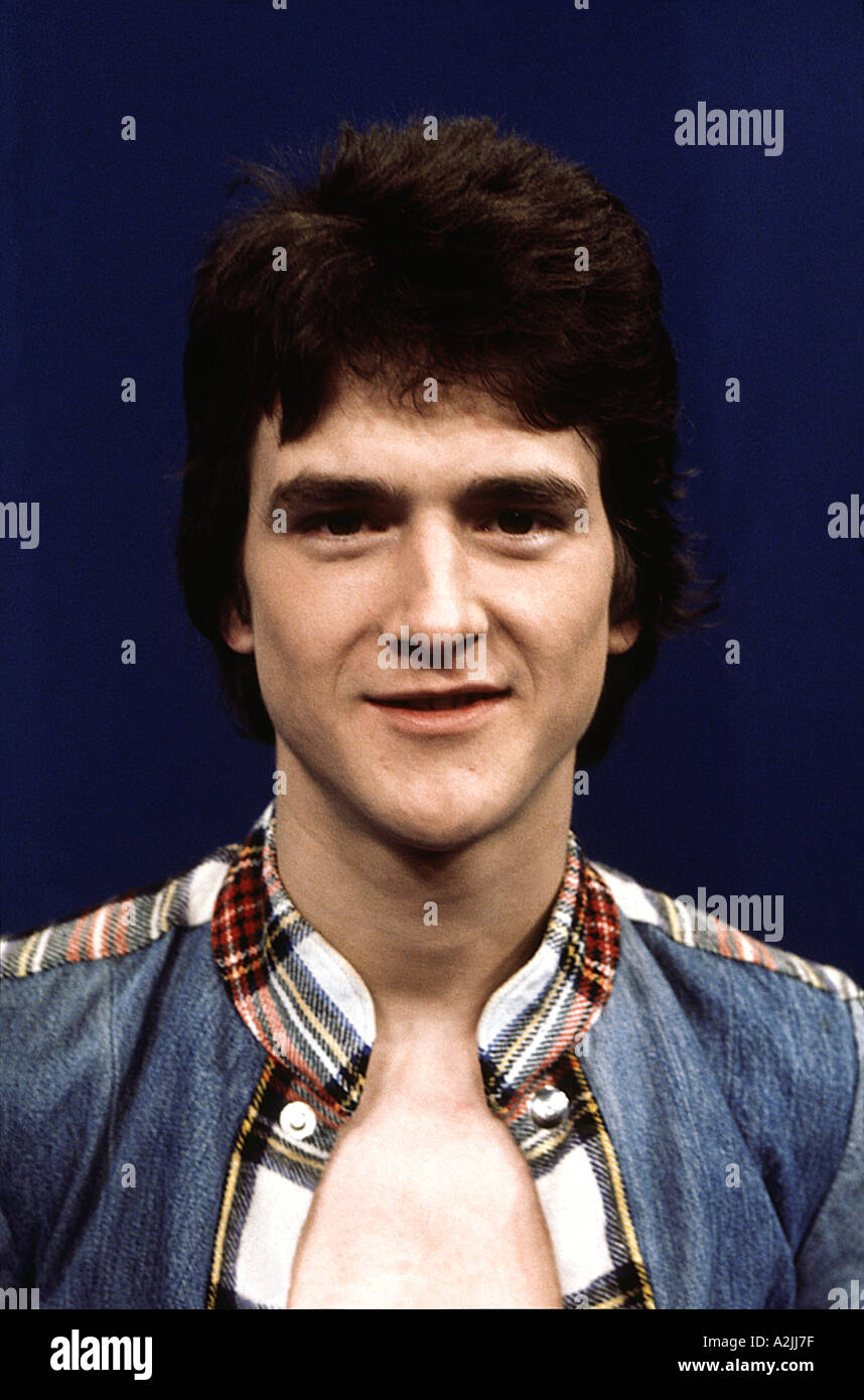 BAY CITY ROLLERS Les McKeown member of the 70s UK pop band - Stock Image