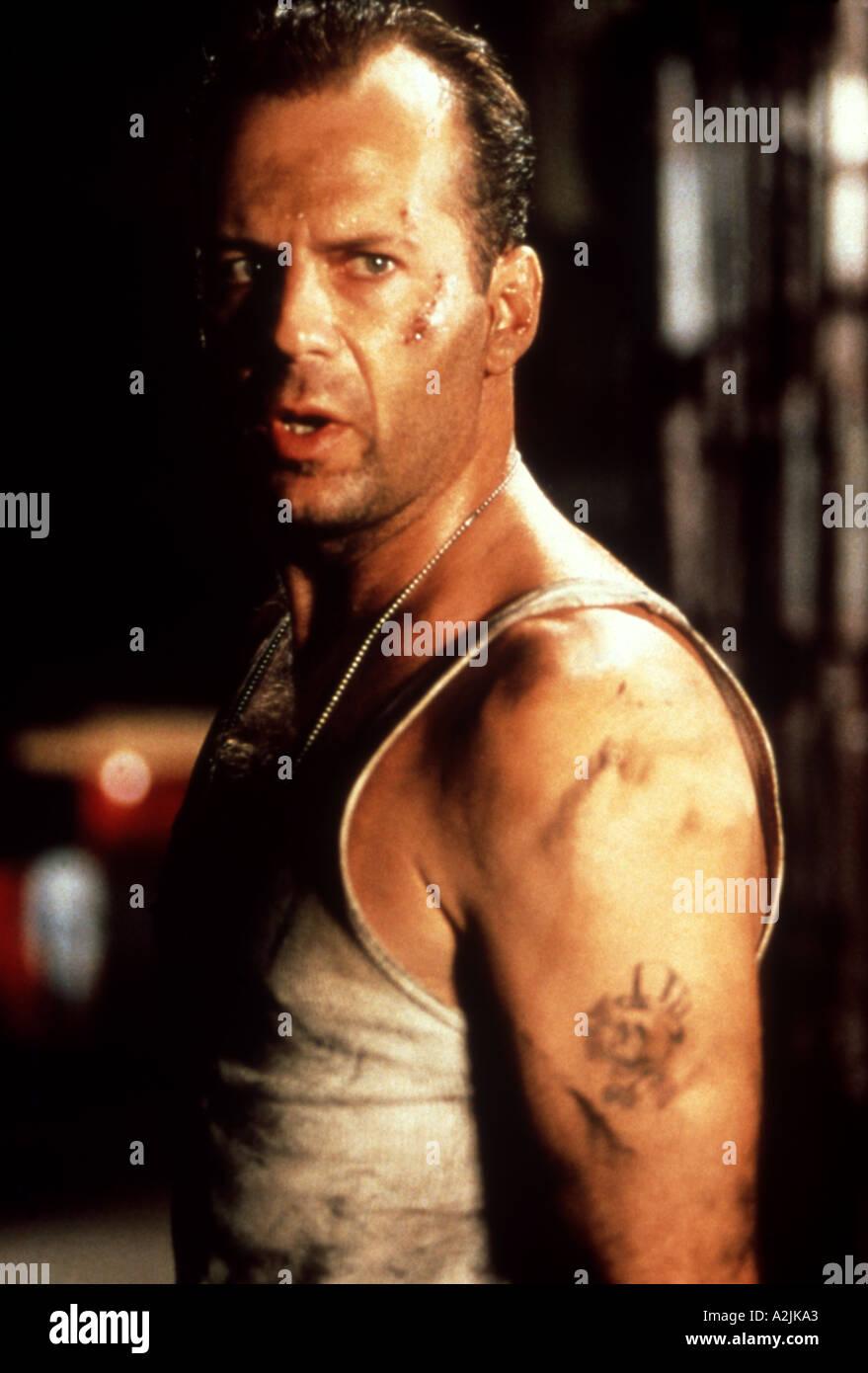 DIE HARD 3 1995 film starring Bruce Willis - Stock Image
