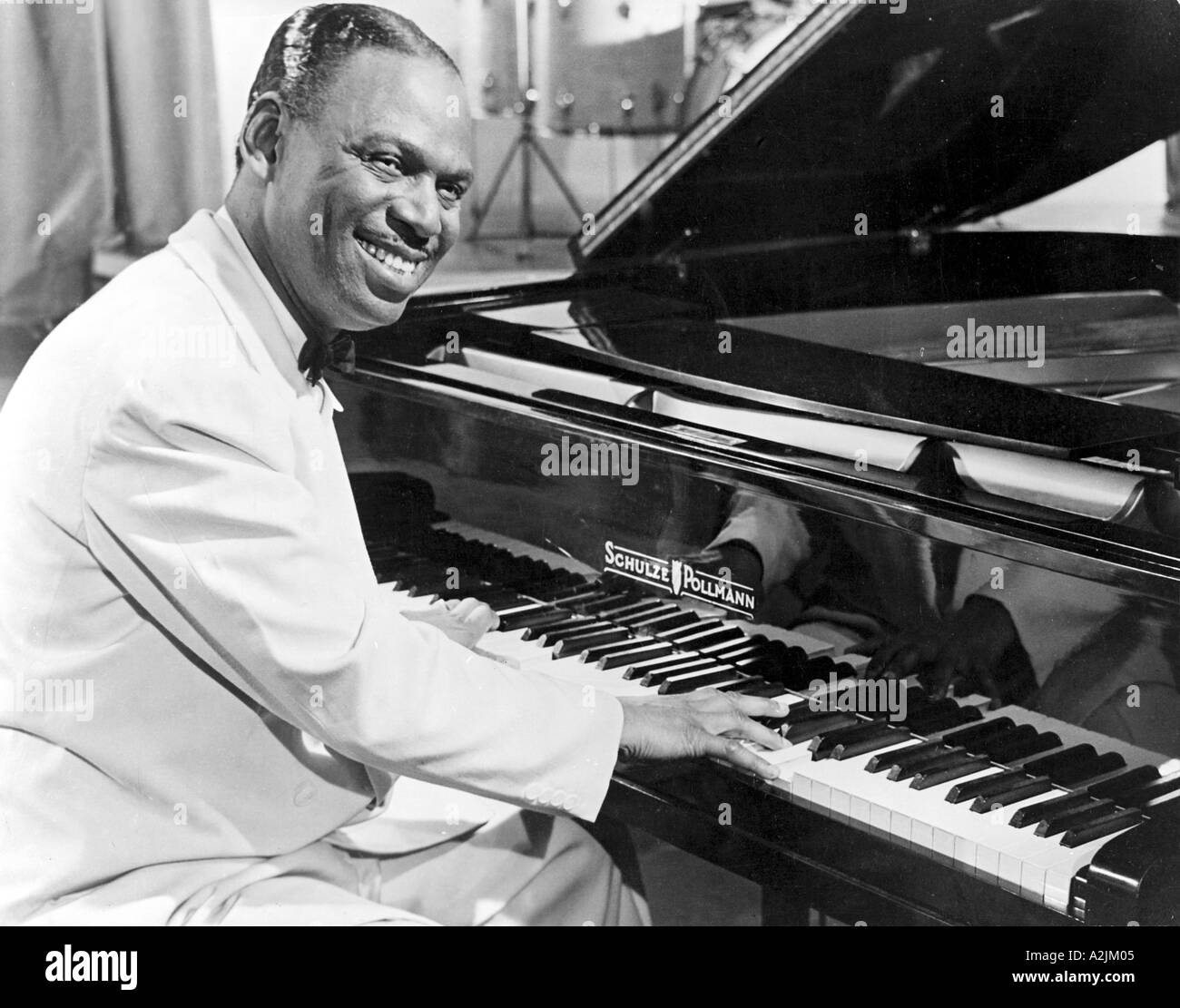 EARL FATHA HINES US jazz musician 1903 1983 - Stock Image