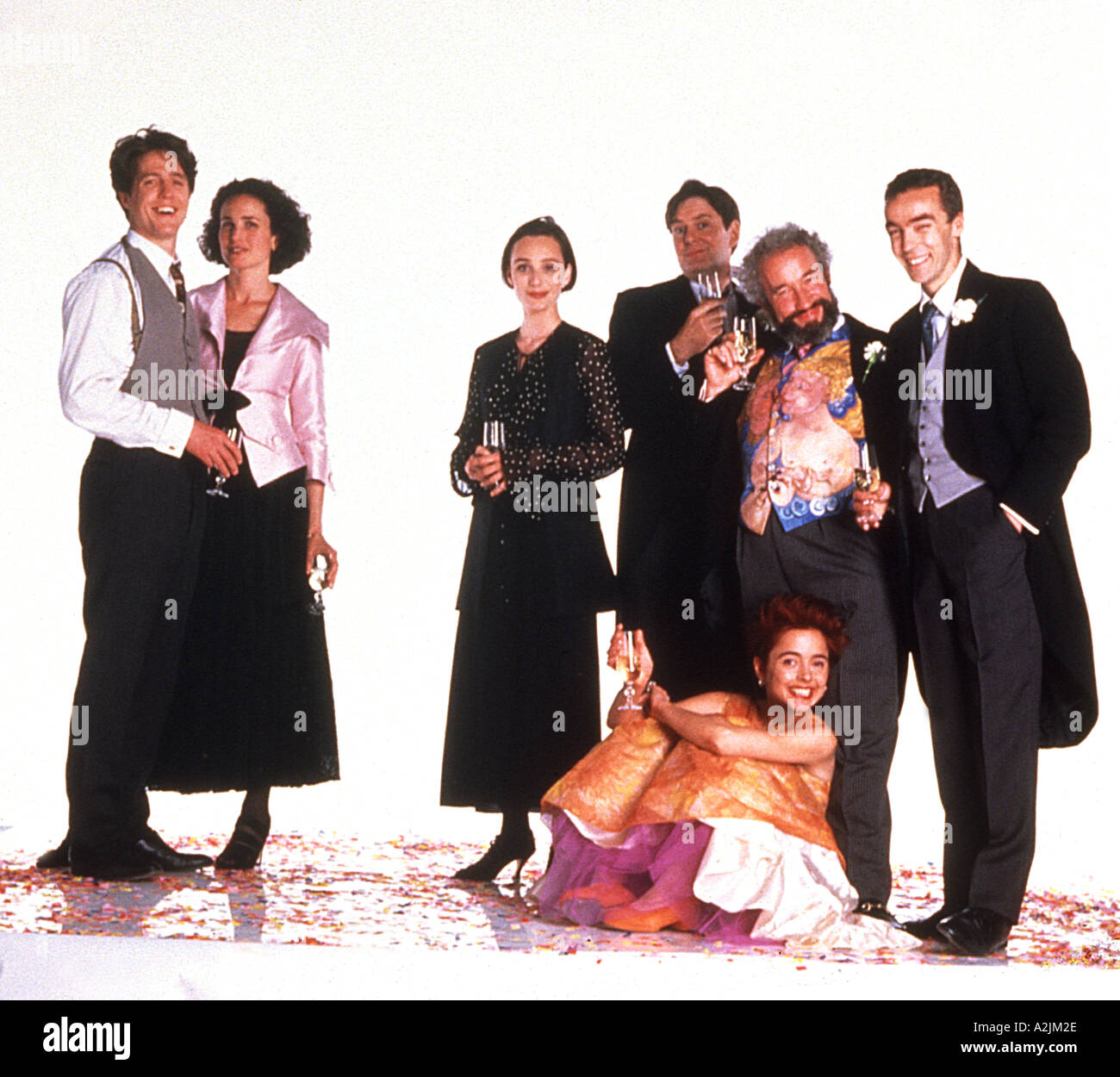 Four Weddings And A Funeral Movie Wiki: FOUR WEDDINGS AND A FUNERAL 1994 Film Starring Hugh Grant