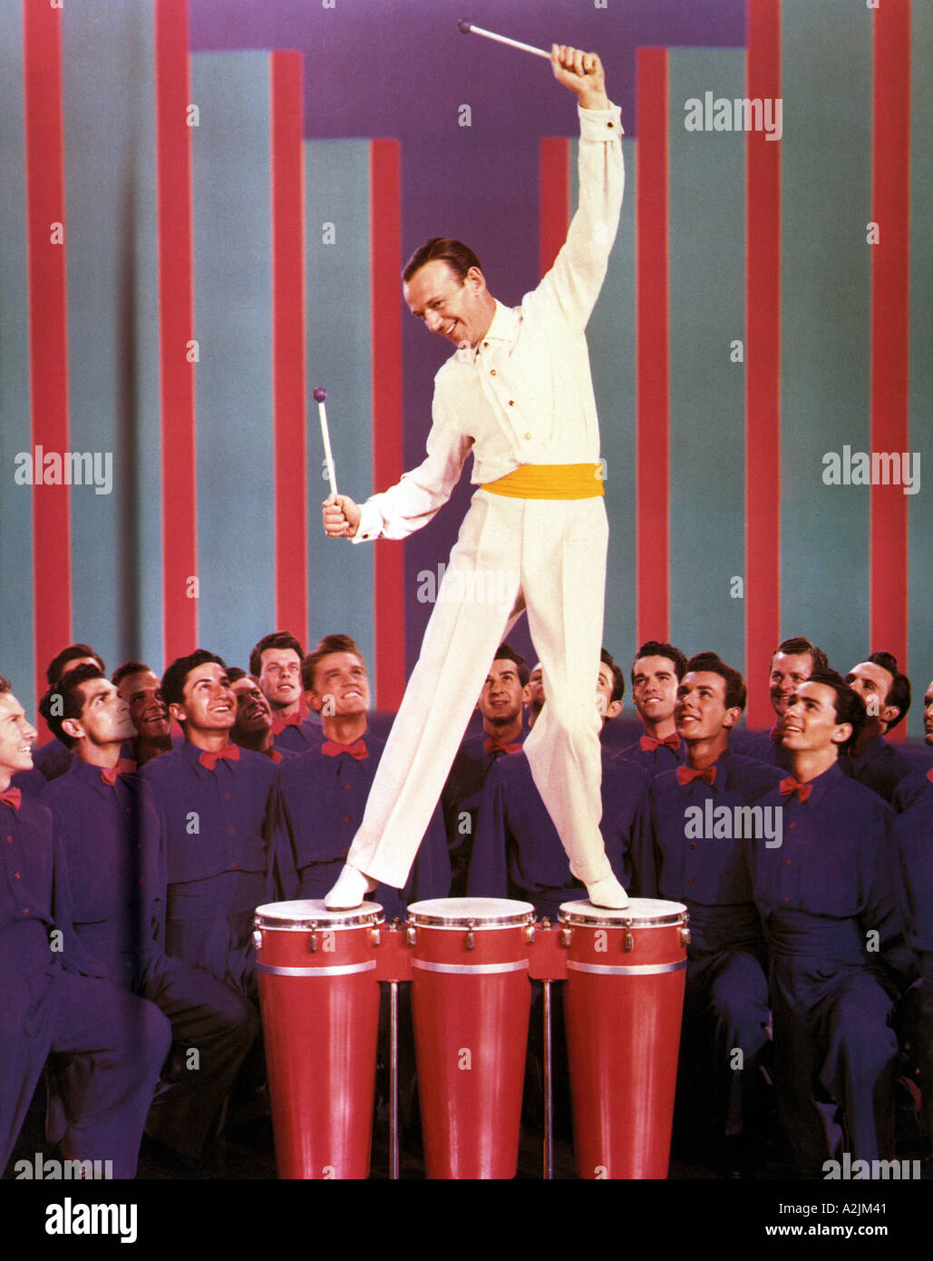 FRED ASTAIRE 1899 1987 American actor and dancer - Stock Image
