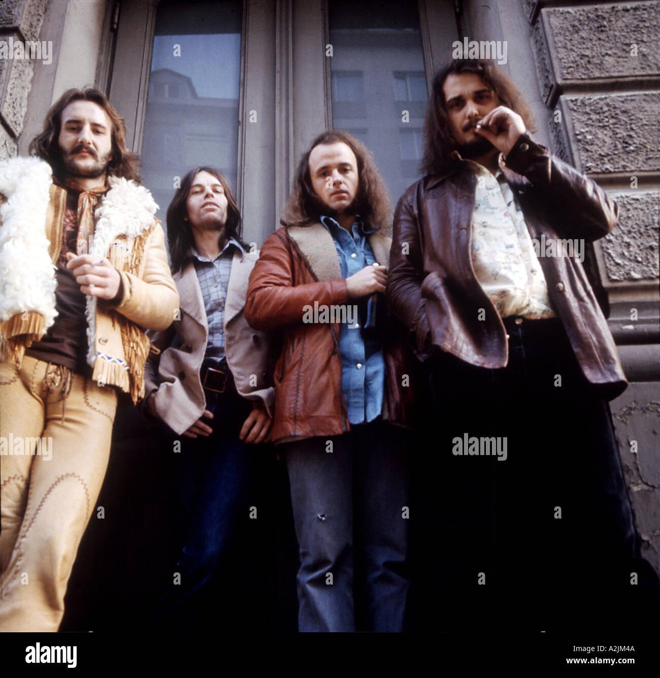 FREE rock band - Stock Image