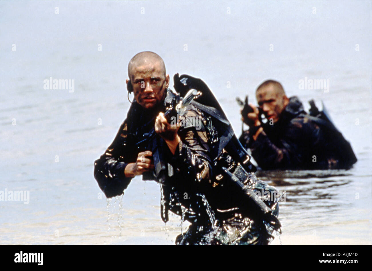 G I JANE Demi Moore in the 1997 Buena  Vista film - Stock Image