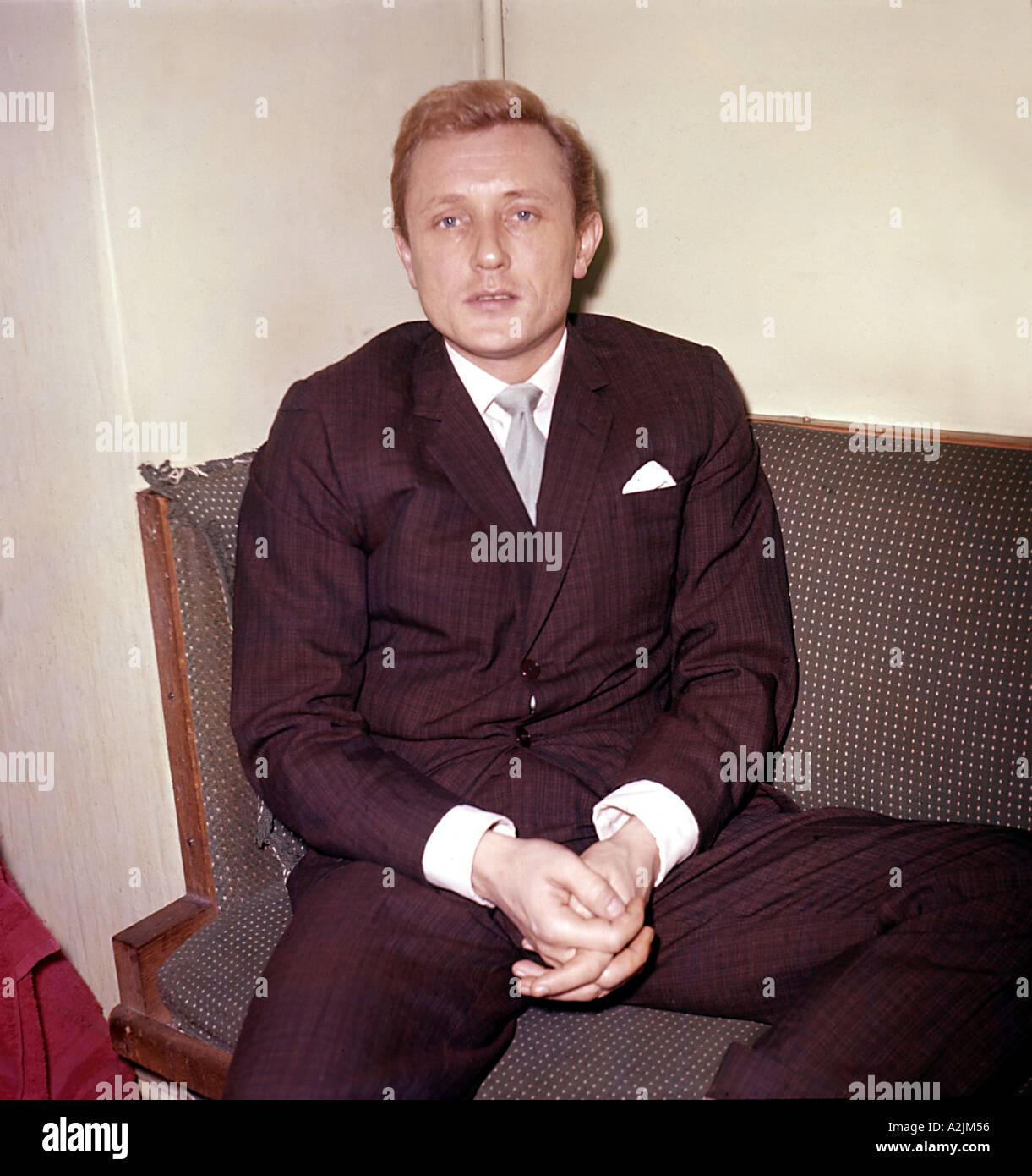 GARY MILLER UK pop singer 1924 1968 - Stock Image