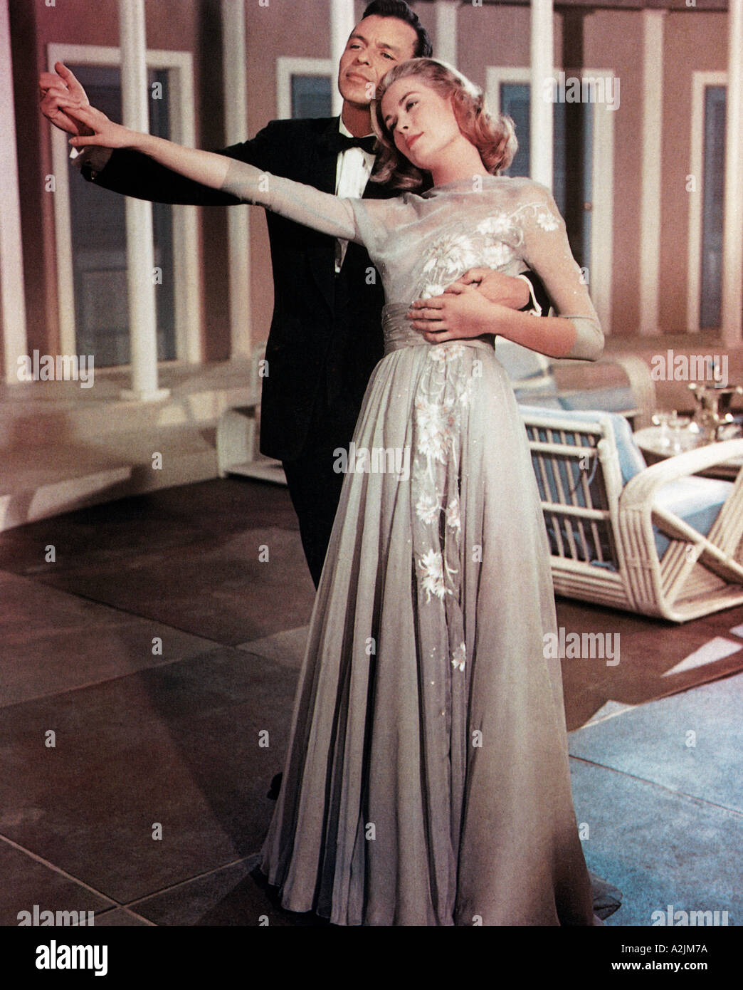 HIGH SOCIETY 1956 film musical with Grace Kelly and Frank Sinatra Stock  Photo - Alamy