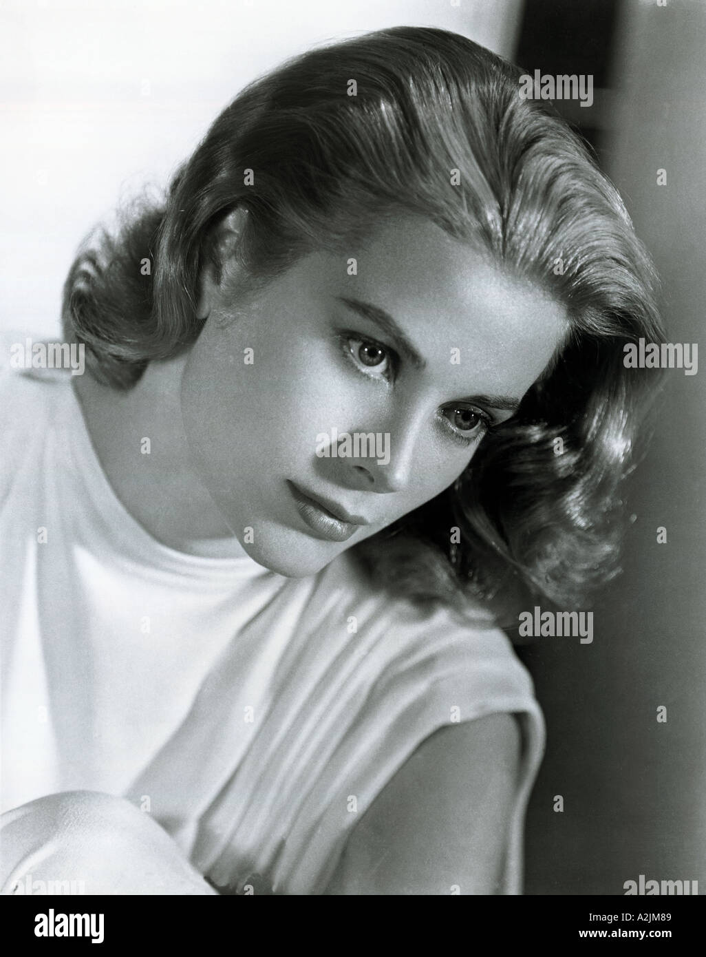 GRACE KELLY American film actress 1928 1982 here about 1951 - Stock Image