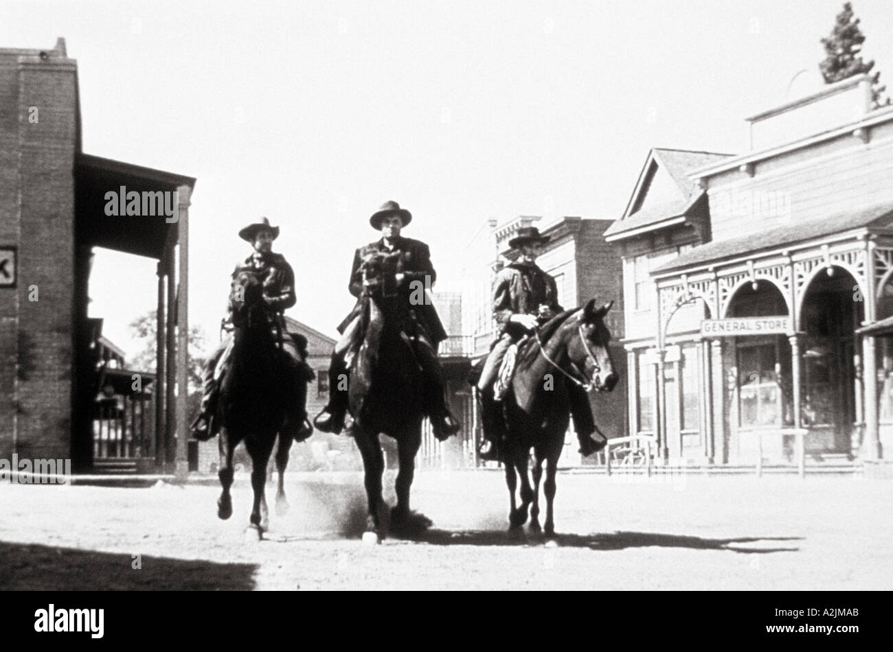 HIGH NOON classic 1952 Western film - Stock Image