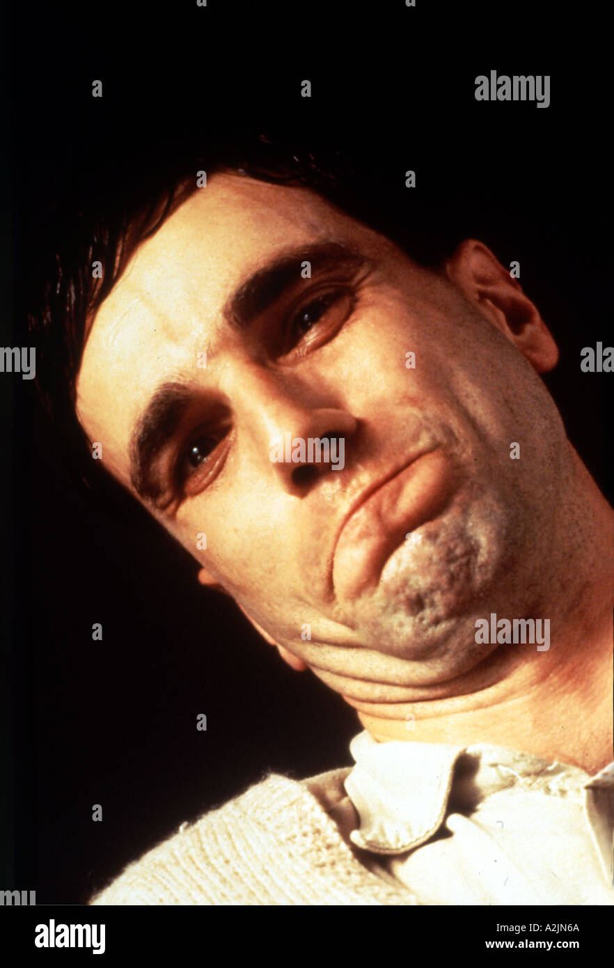 MY LEFT FOOT 1989 film with Daniel Day Lewis - Stock Image