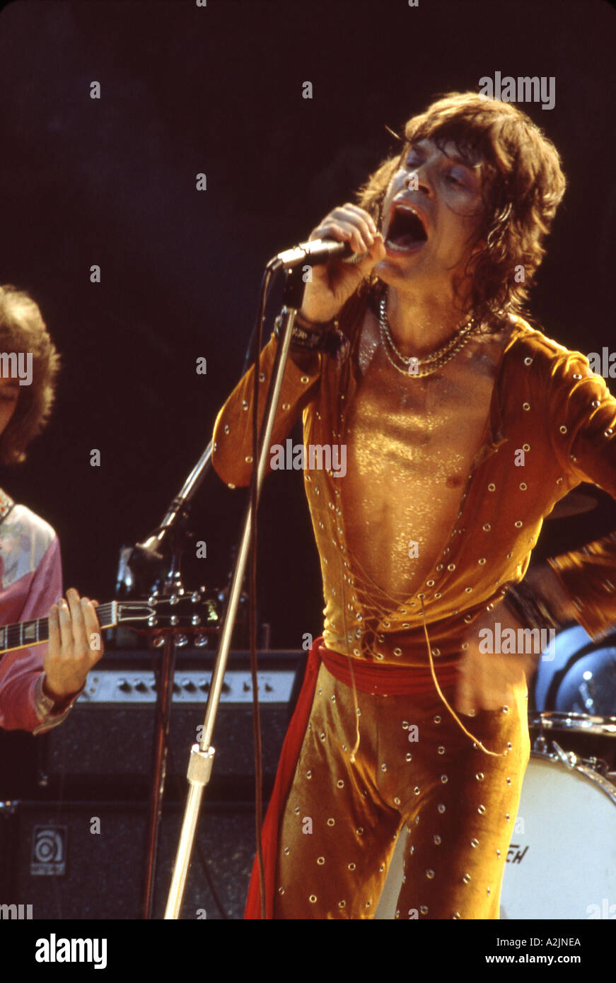ROLLING STONES Mick Jagger - Stock Image
