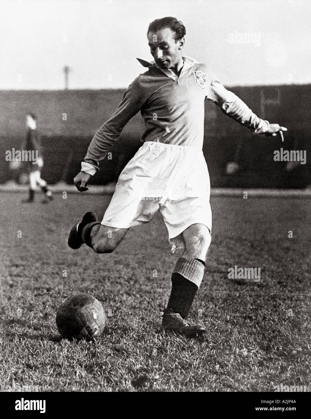 STANLEY MATTHEWS 1915 to 2000 - the  first British professional footballer to be Knighted. His playing career spanned 36 years - Stock Image