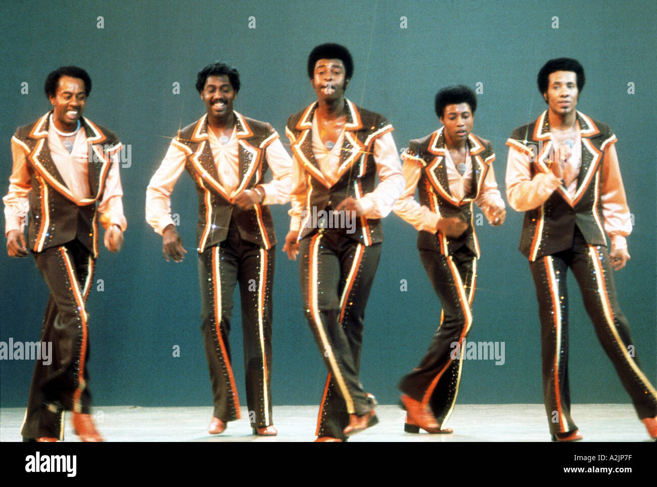 TEMPTATIONS American 70s Soul group - Stock Image