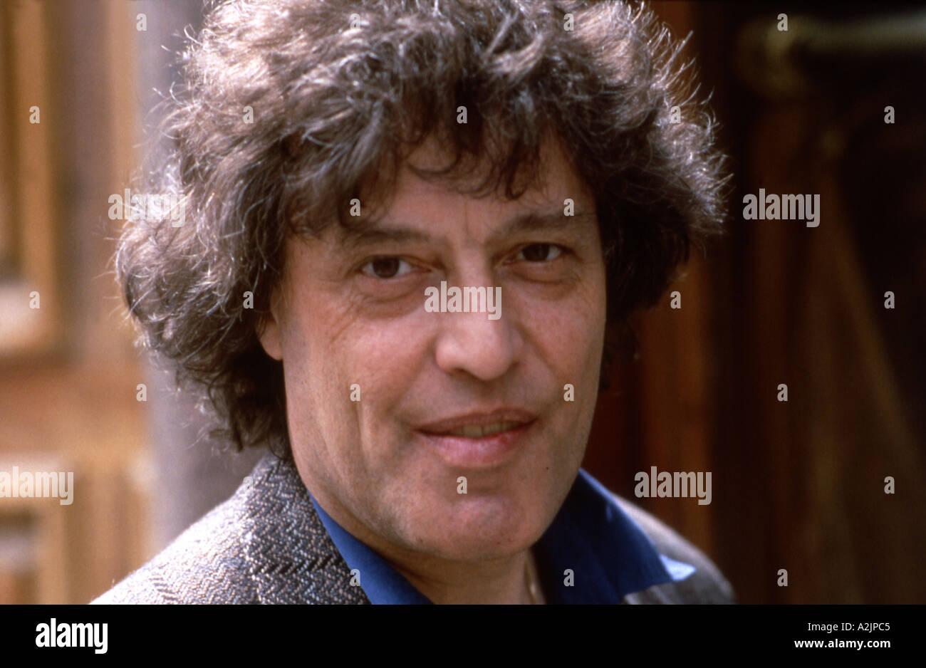 TOM STOPPARD British playwright - Stock Image