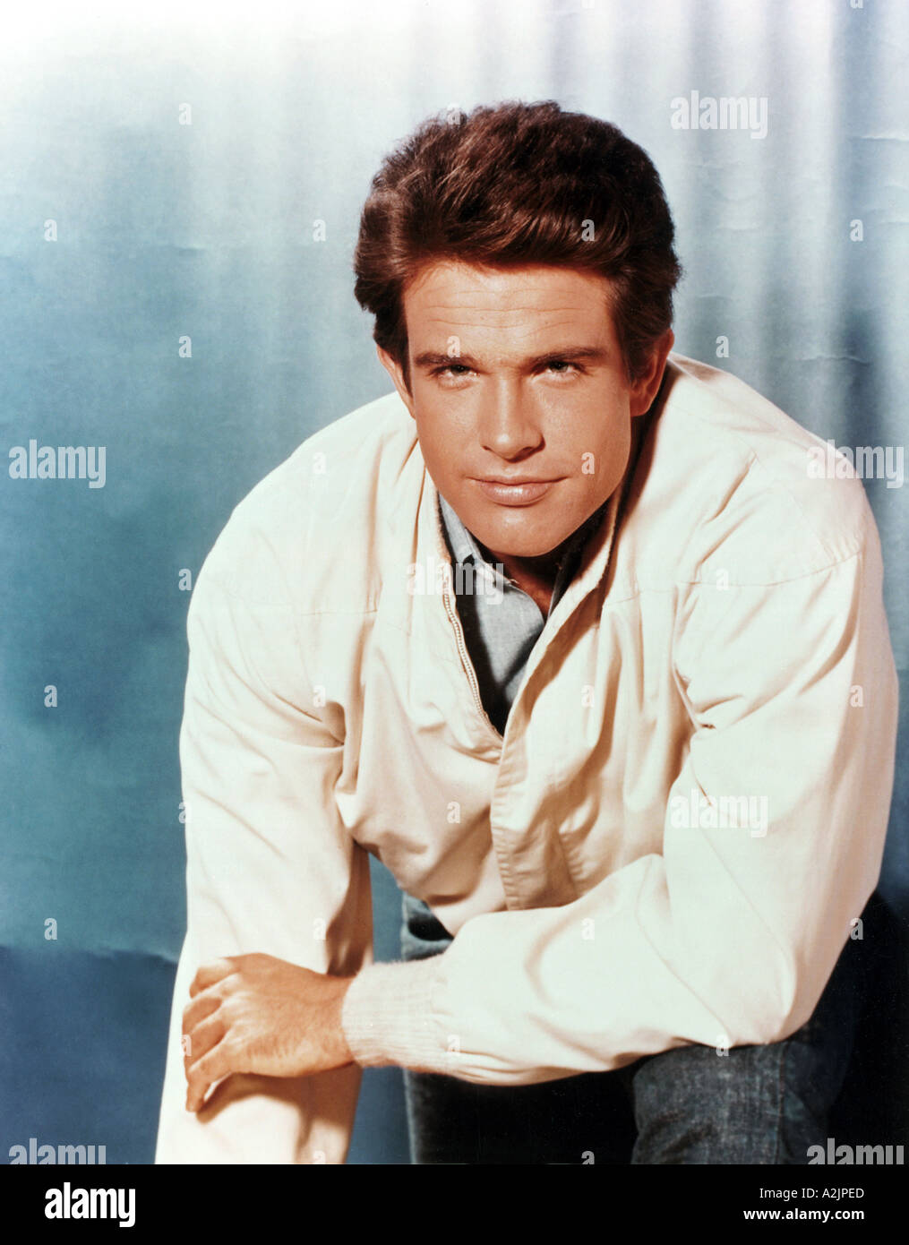 WARREN BEATTY b 1937 American film actor here about 1973 - Stock Image