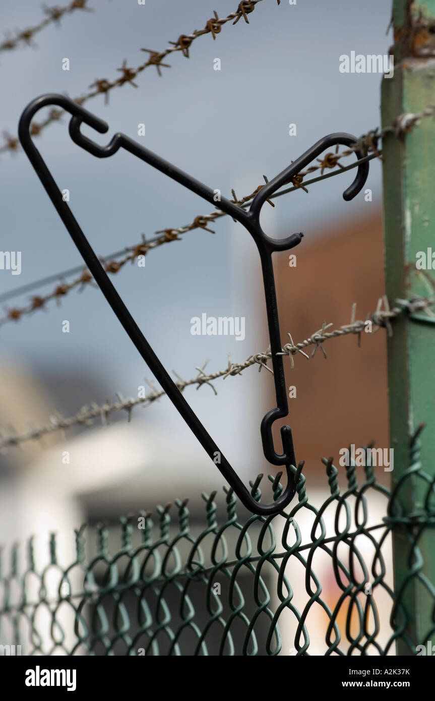 Wire Hanger Stock Photos & Wire Hanger Stock Images - Alamy