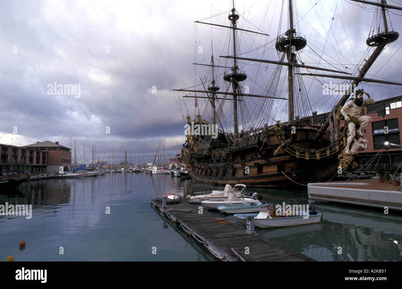 Pirates galleon - Stock Image