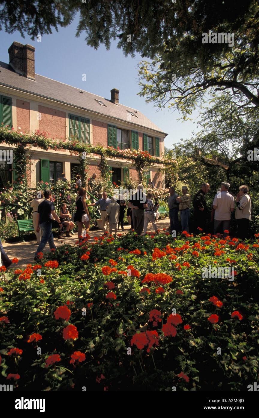 EU, France, Normandy, Eure, Giverny. Claude Monet\'s Gardens, Monet ...