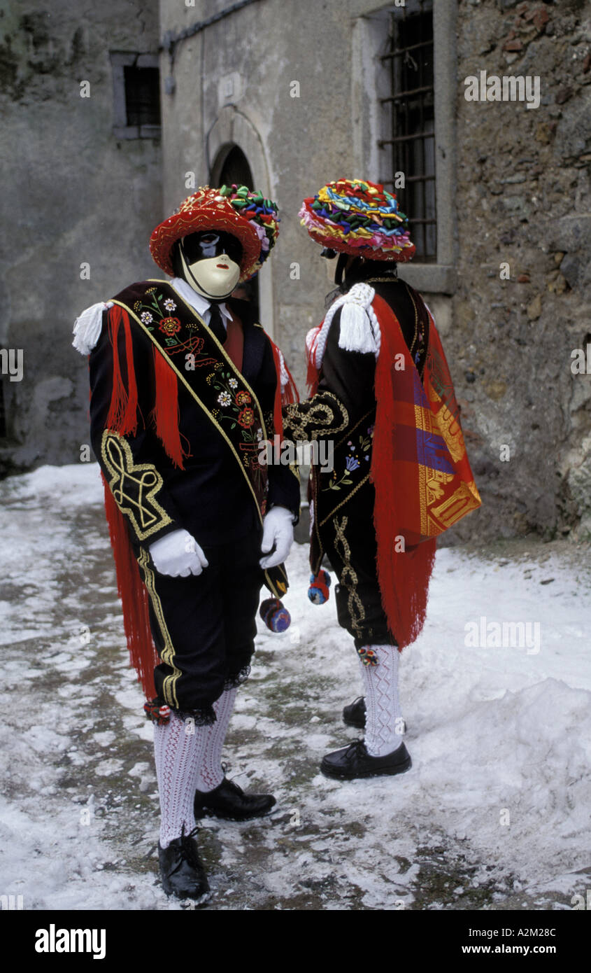 Traditional carnival - Stock Image