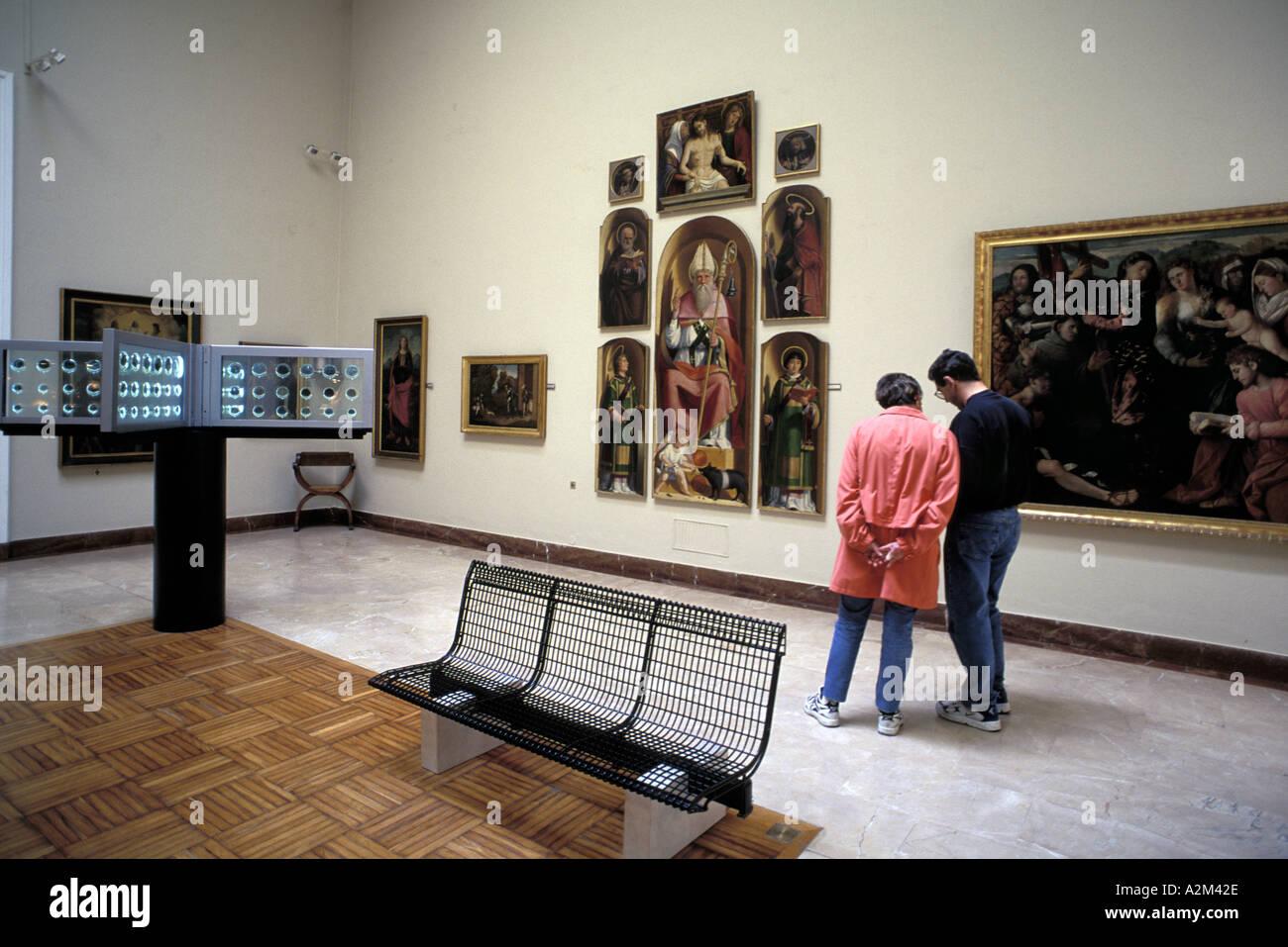 Accademia Carrara - Stock Image