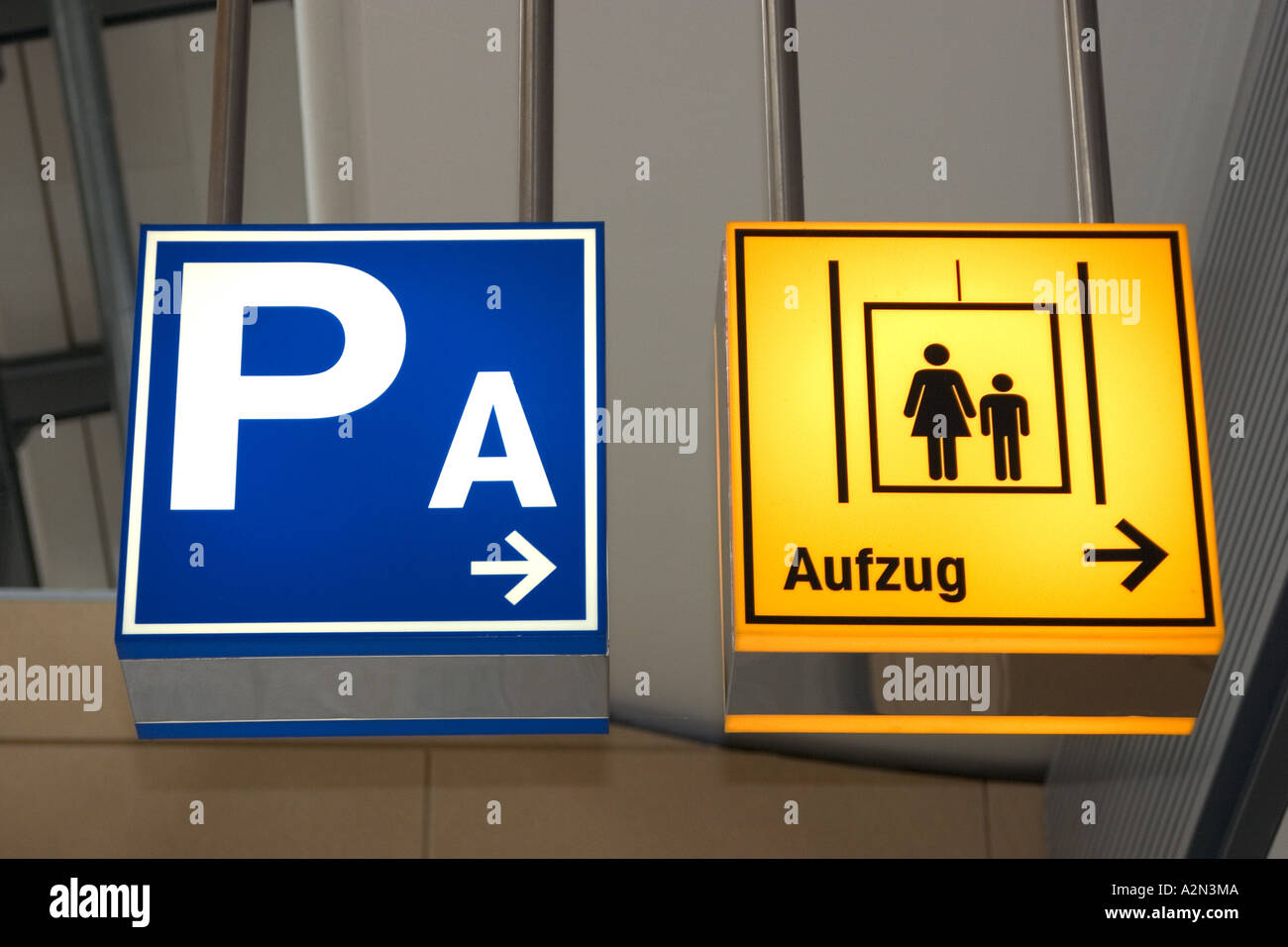 shields;signboards;signposts - Stock Image