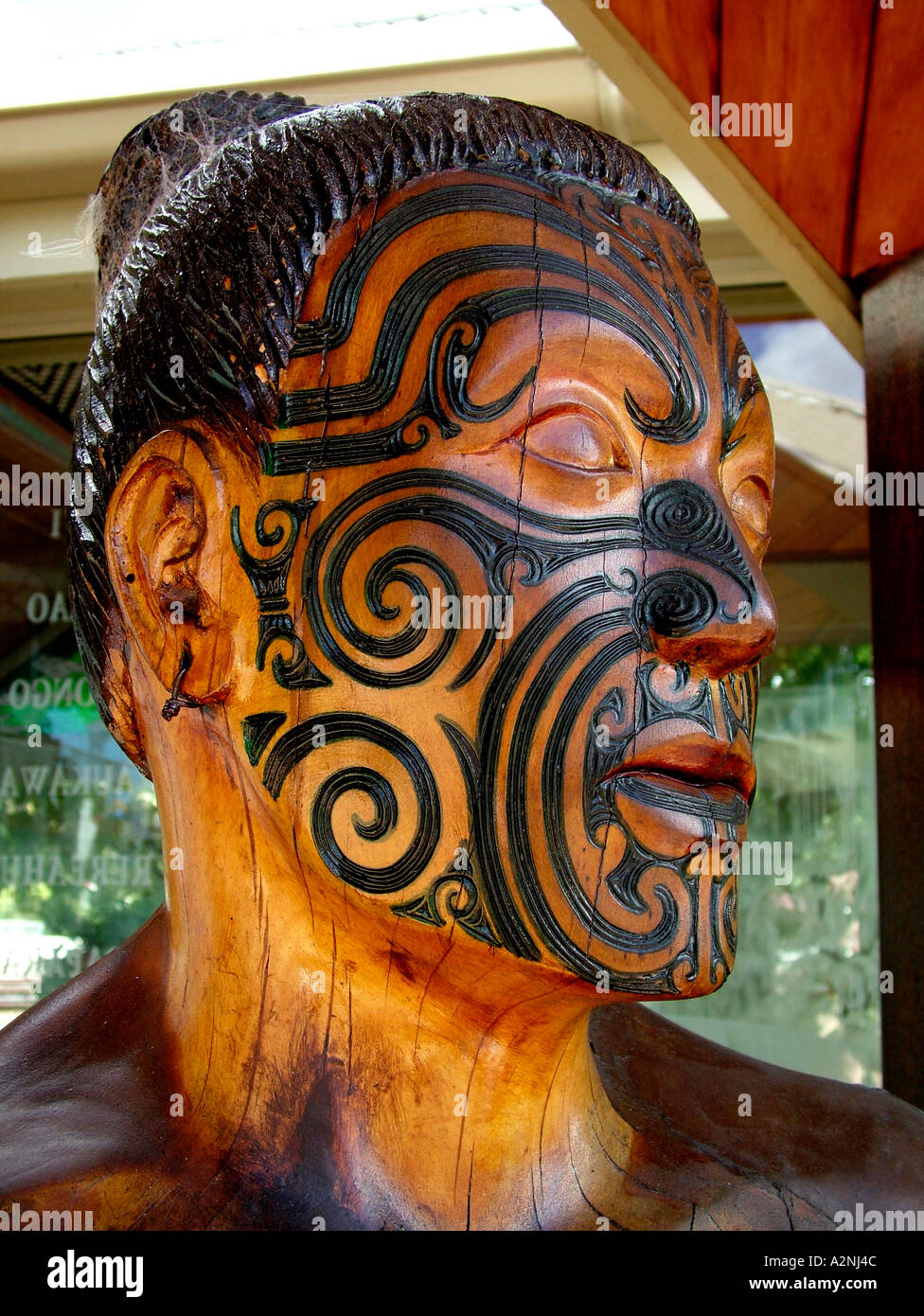 Maori moko tattoo stock photos & maori moko tattoo stock images alamy