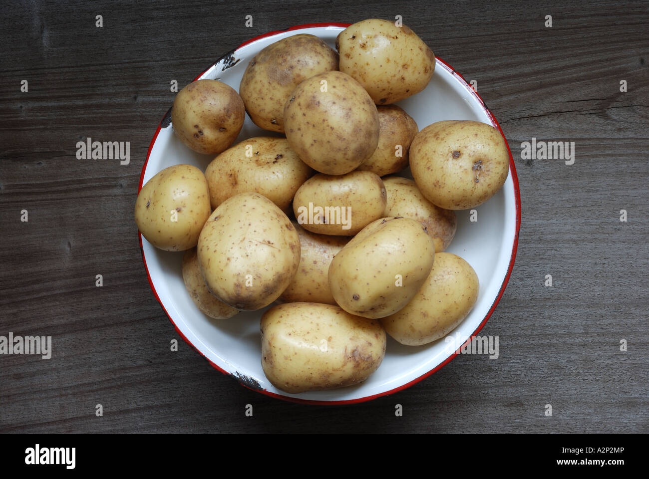 Potatoes variety Vivaldi - Stock Image