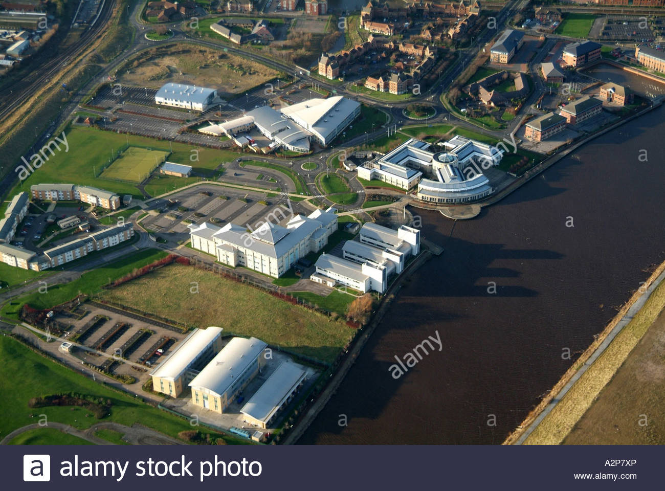 Queens Campus of Durham University, Stockton Upon Tees, North East England, January 2007 - Stock Image