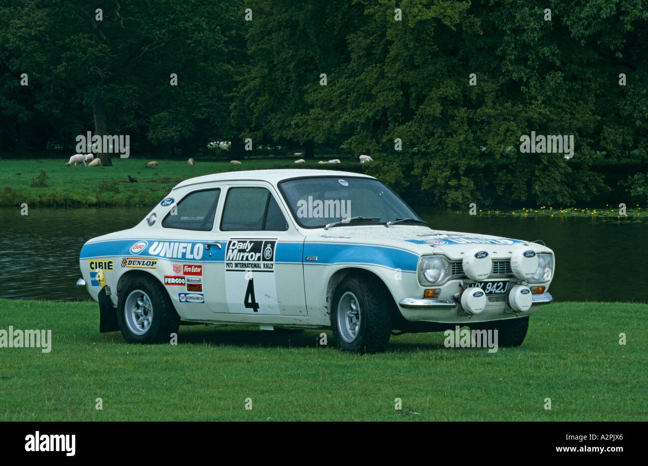 Ford Escort Mk1 Rally Car Stock Photo: 6042661 - Alamy