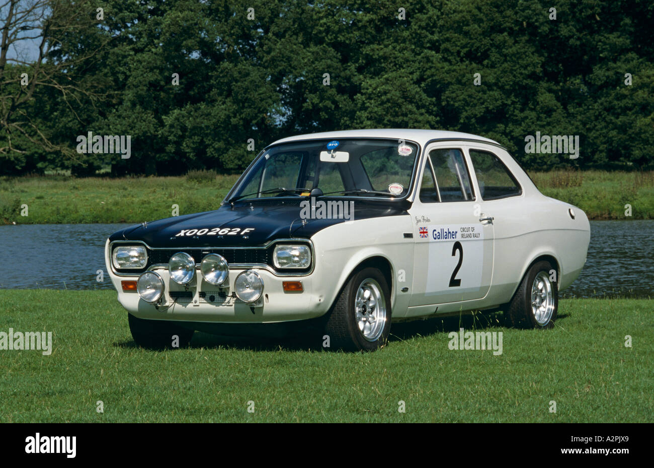 Ford Escort Mk1 Works Rally Car of 1968 Stock Photo: 6042664 - Alamy