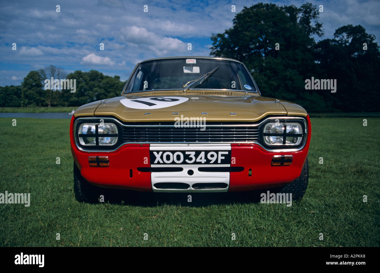 Best Buy Automotive >> Ford Escort Mk1 Twin Cam 1600. Introduced January 1968 Stock Photo: 6042743 - Alamy