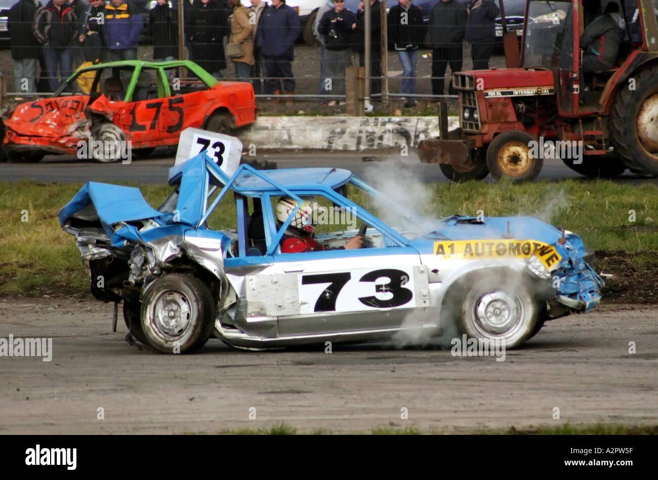 Stock Car Racing Crashes
