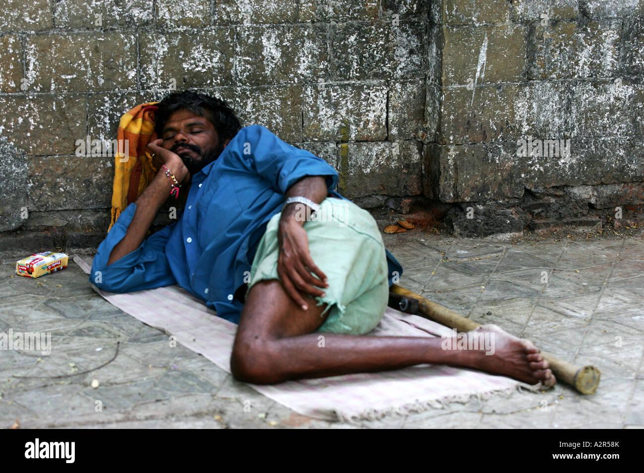 Street scenes in Mumbai India - Stock Image