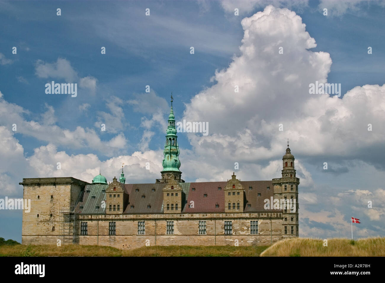 Kronborg Castle of Shalespeare s Hamlet Elsinore Denmark - Stock Image
