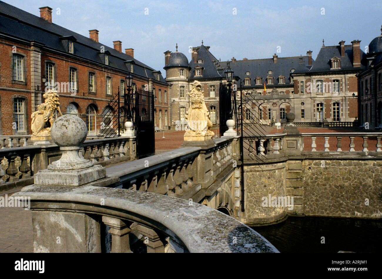Castle Beloeil Belgium Ardenne Ardennes - Stock Image