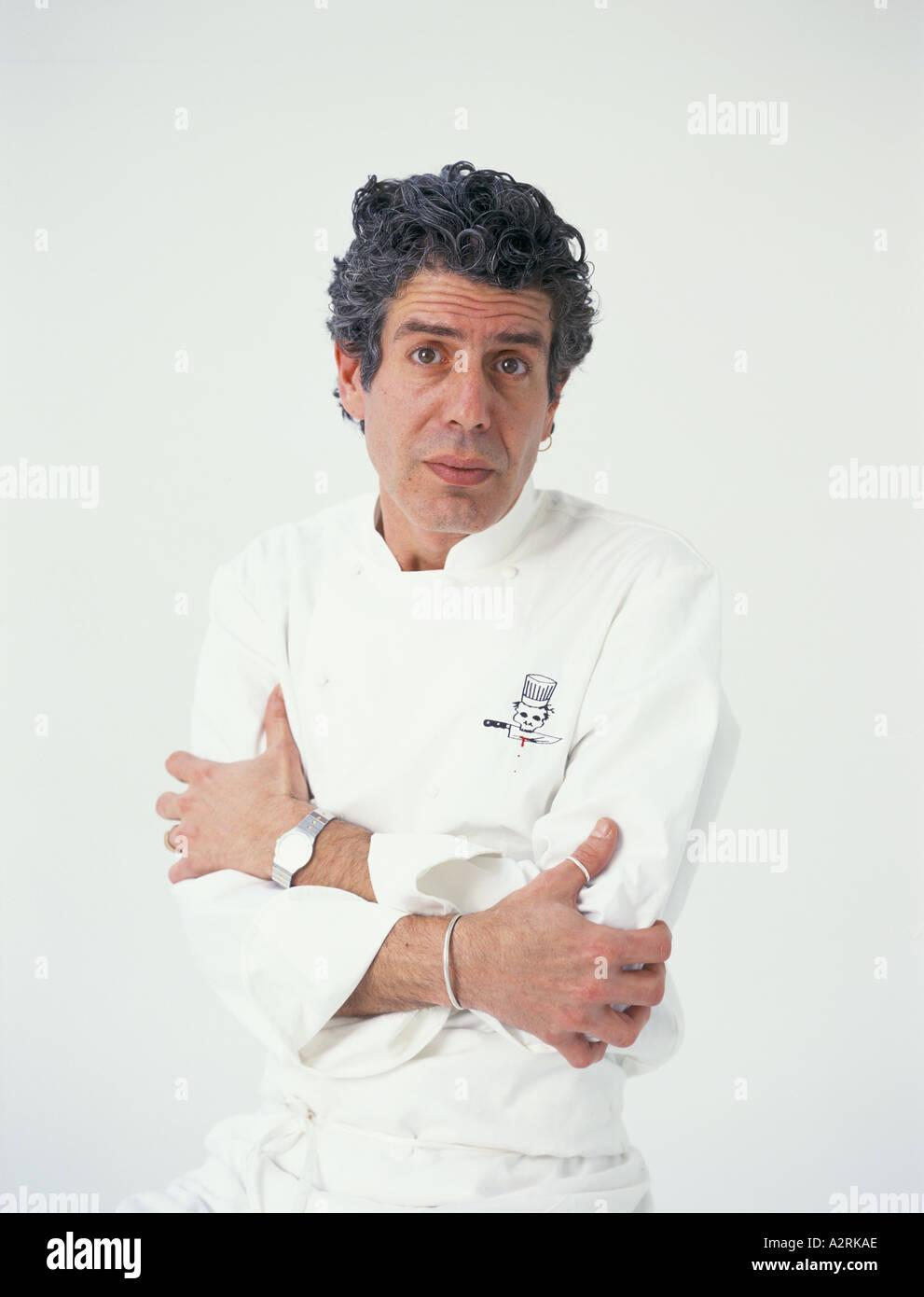 anthony bourdain chef writer of kitchen confidential adventures in ...