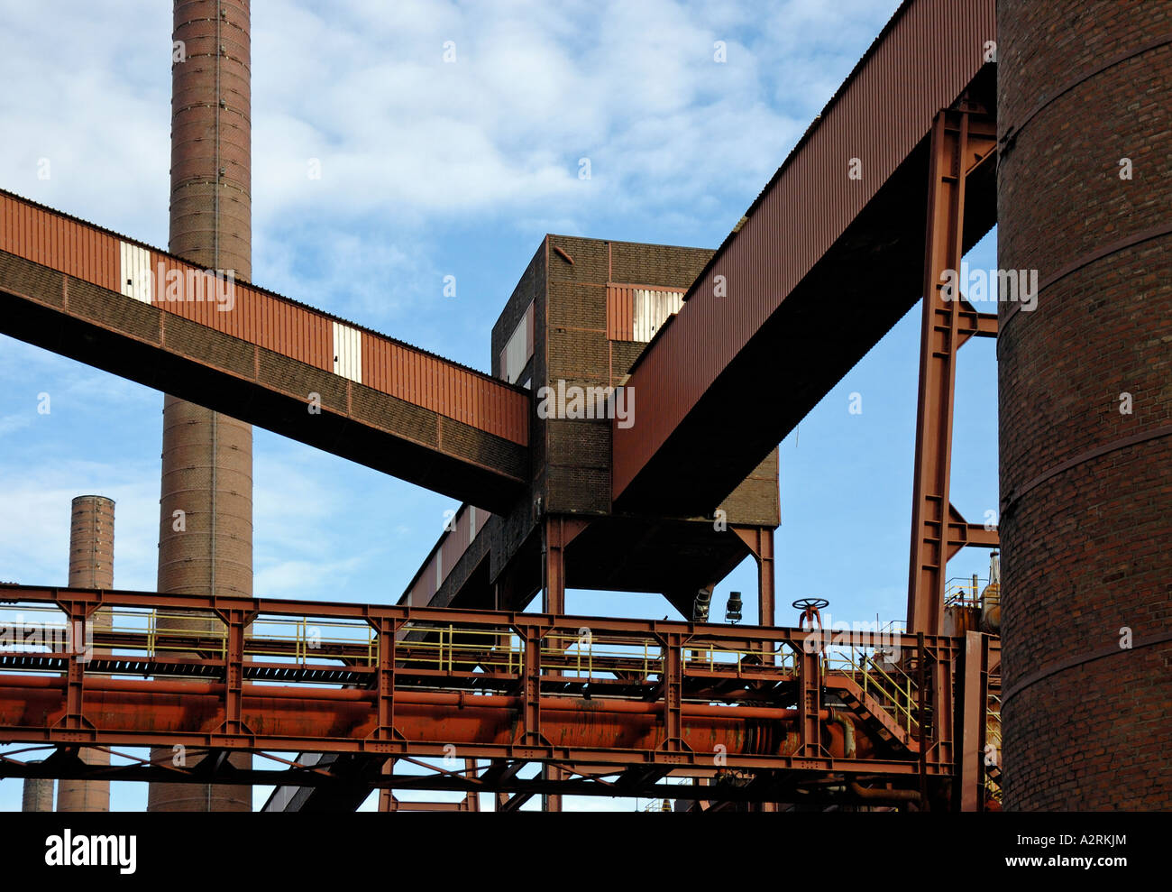 The coking plant at the Unesco world heritage site Zollverein, Essen, Germany. - Stock Image