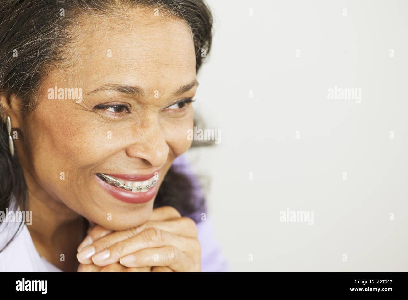 Braces Teeth Woman Stock Photos & Braces Teeth Woman Stock Images ...