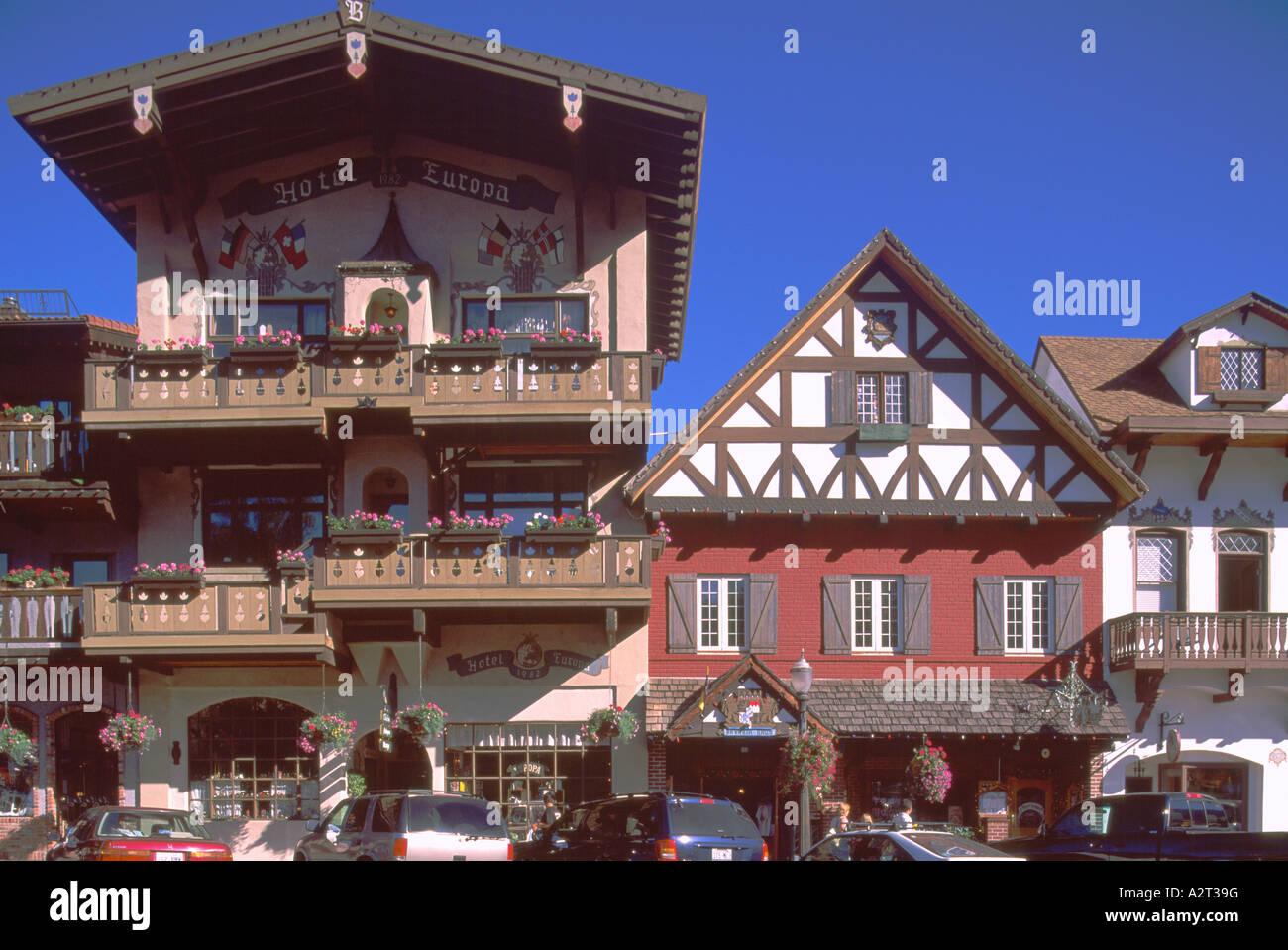 Leavenworth Wa Washington State Usa Bavarian Village Hotels