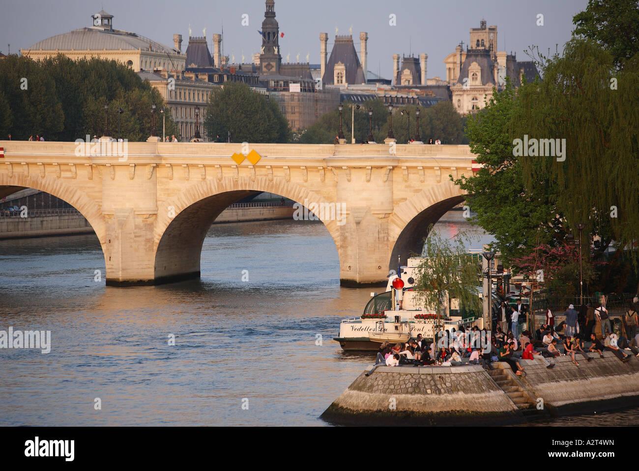 France, Paris, - Stock Image