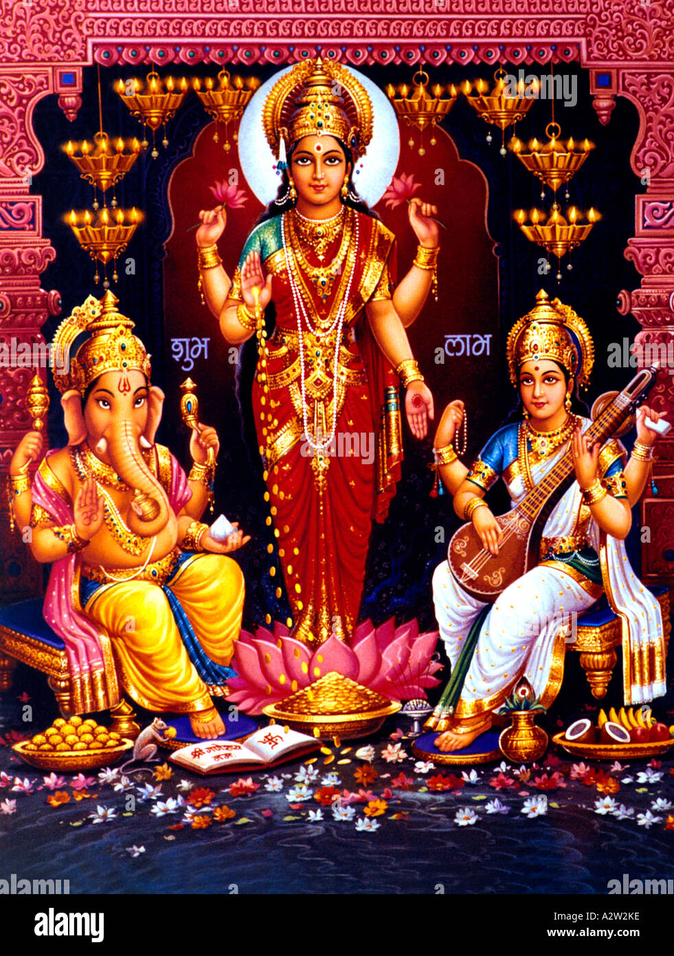 Lakshmi Ganesh High Resolution Stock Photography And Images Alamy