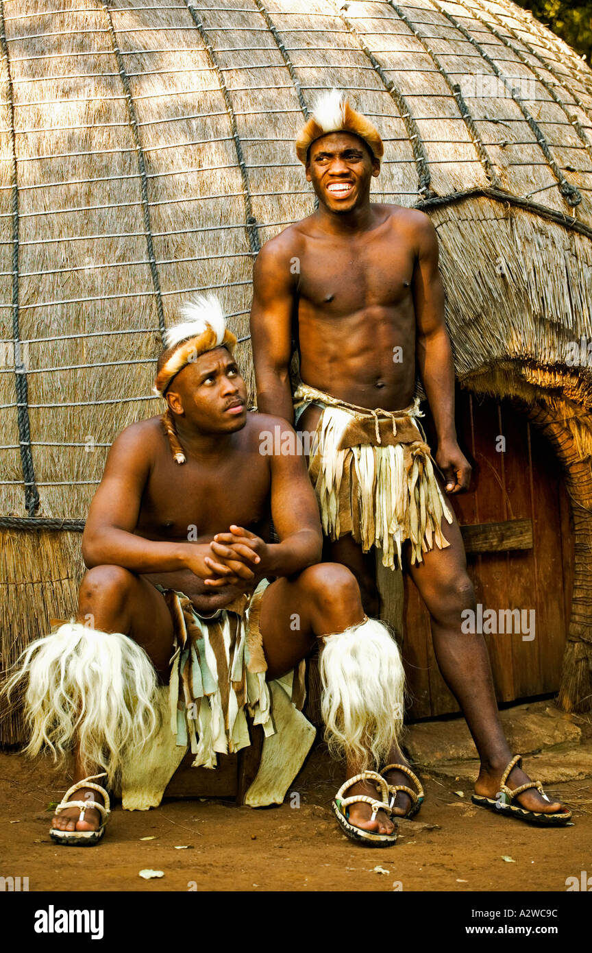 people zulu men in traditional dress model released lesedi cultural