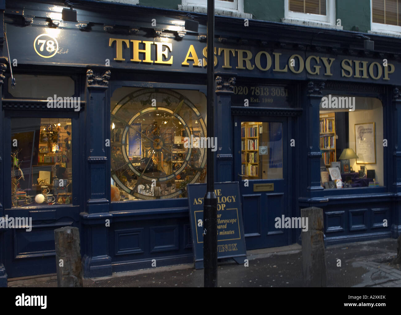 The Astrology Shop Covent Garden London - Stock Image
